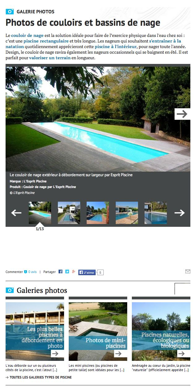 100+ [ Prix Piscine Couloir De Nage ] | Piscines Marinal ... dedans Prix Piscine Desjoyaux 6X3