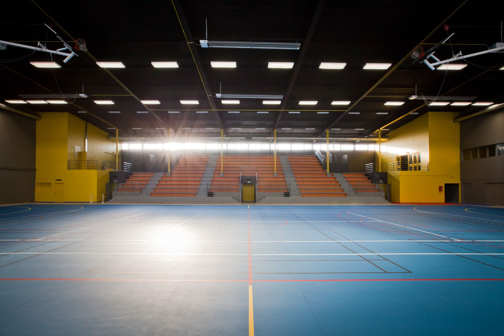 11H45 / Gymnase Jean Moulin Bezons (95) - A19 Architecture ... avec Piscine De Bezons