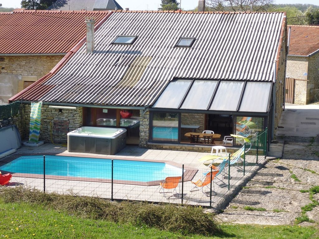 200M2 Villa In The Countryside On 2200M2 Heated Pool And Spa - Fossé avec Piscine Rethel