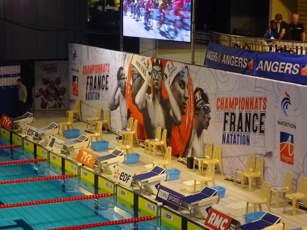 20191215 - Championnats De France Elite Angers - Us ... destiné Colomiers Piscine