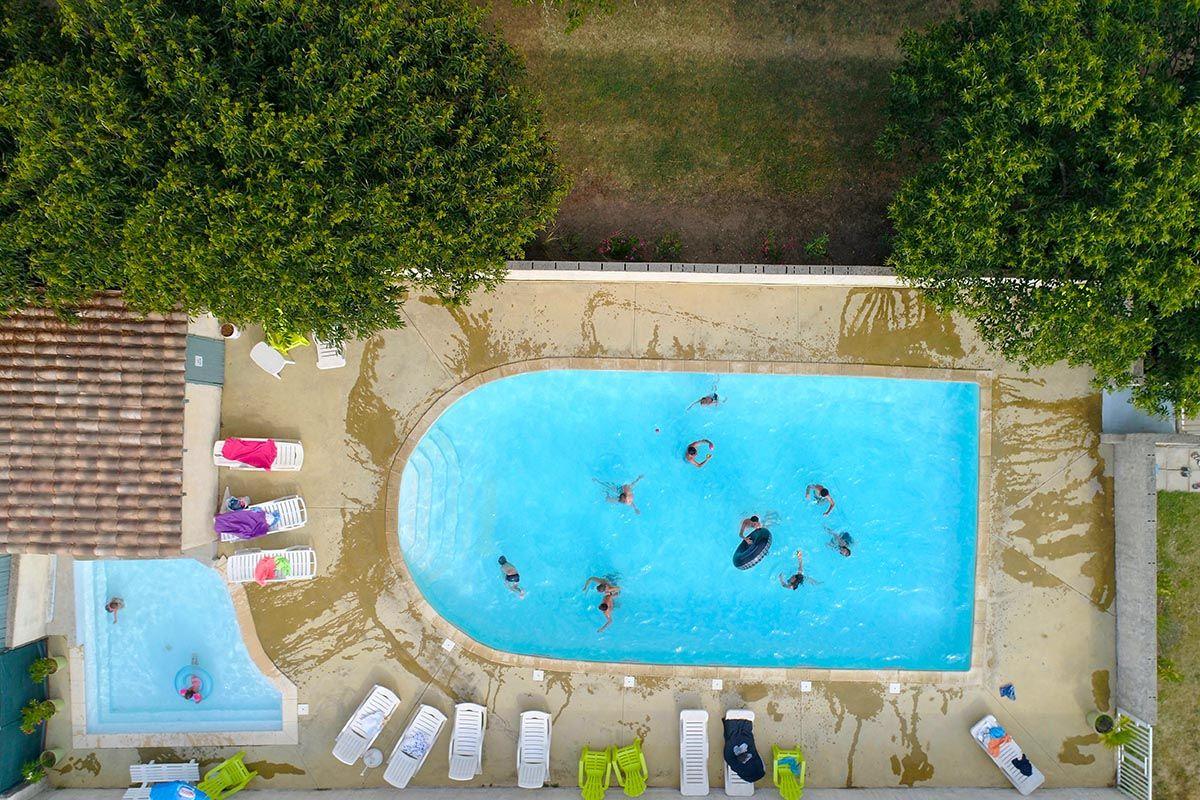 3-Star Campsite Ardeche Riverside Swimming Pool Catering ... tout Piscine Lablachere