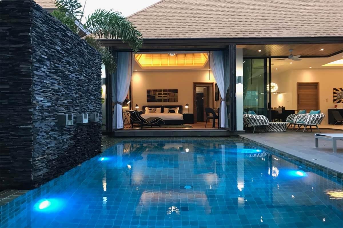 3, Villa Moderne Avec Piscine, À Vendre À Rawai, Phuket ... destiné Maison Avec Piscine A Vendre