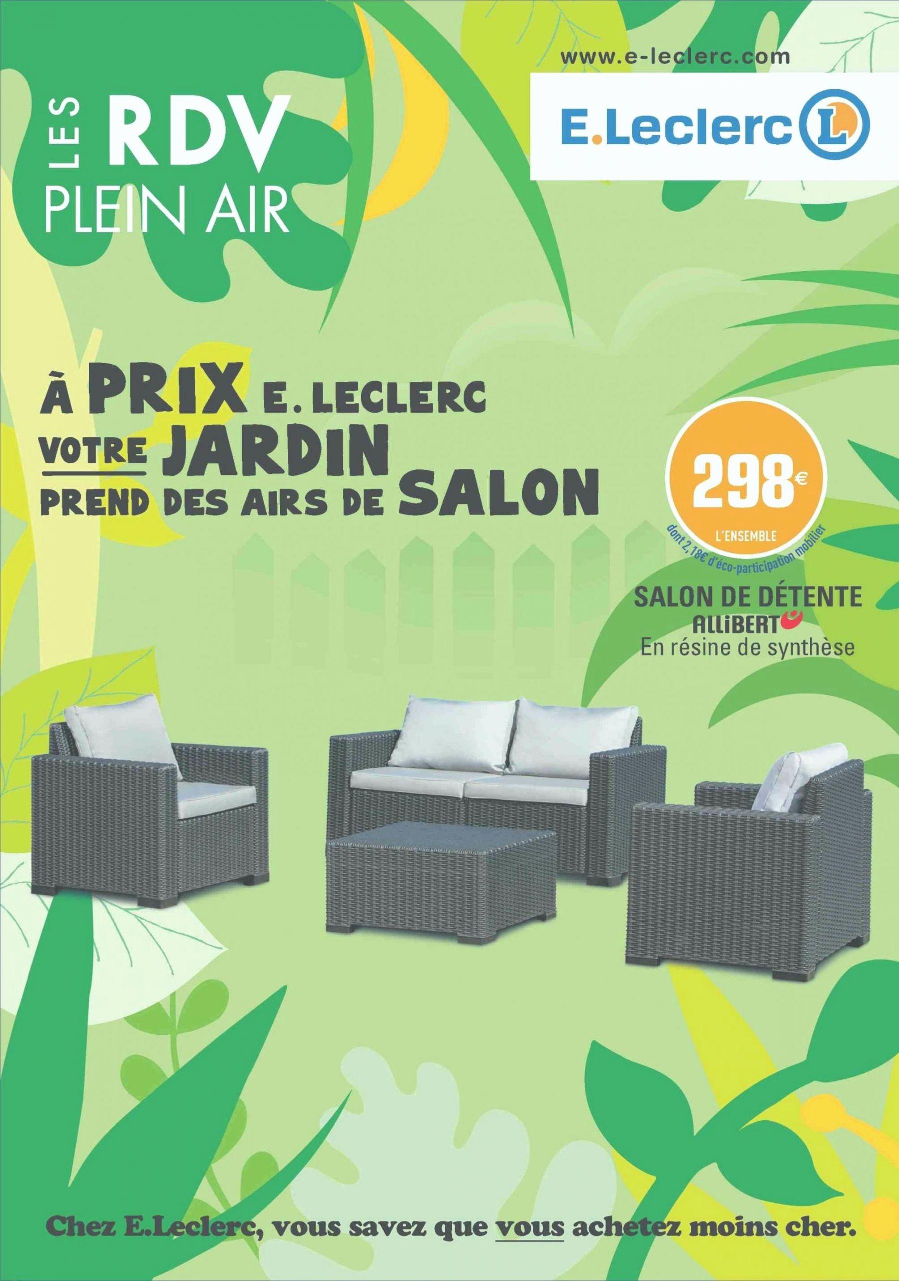 32 Frais Salon De Jardin Bas Leclerc | Salon Jardin à Piscine Hors Sol Leclerc