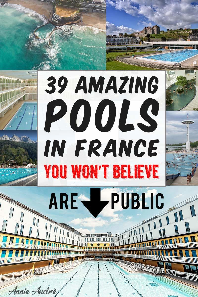 39 Amazing Pools In France You Won't Believe Are Public Pools intérieur Piscine Lingolsheim