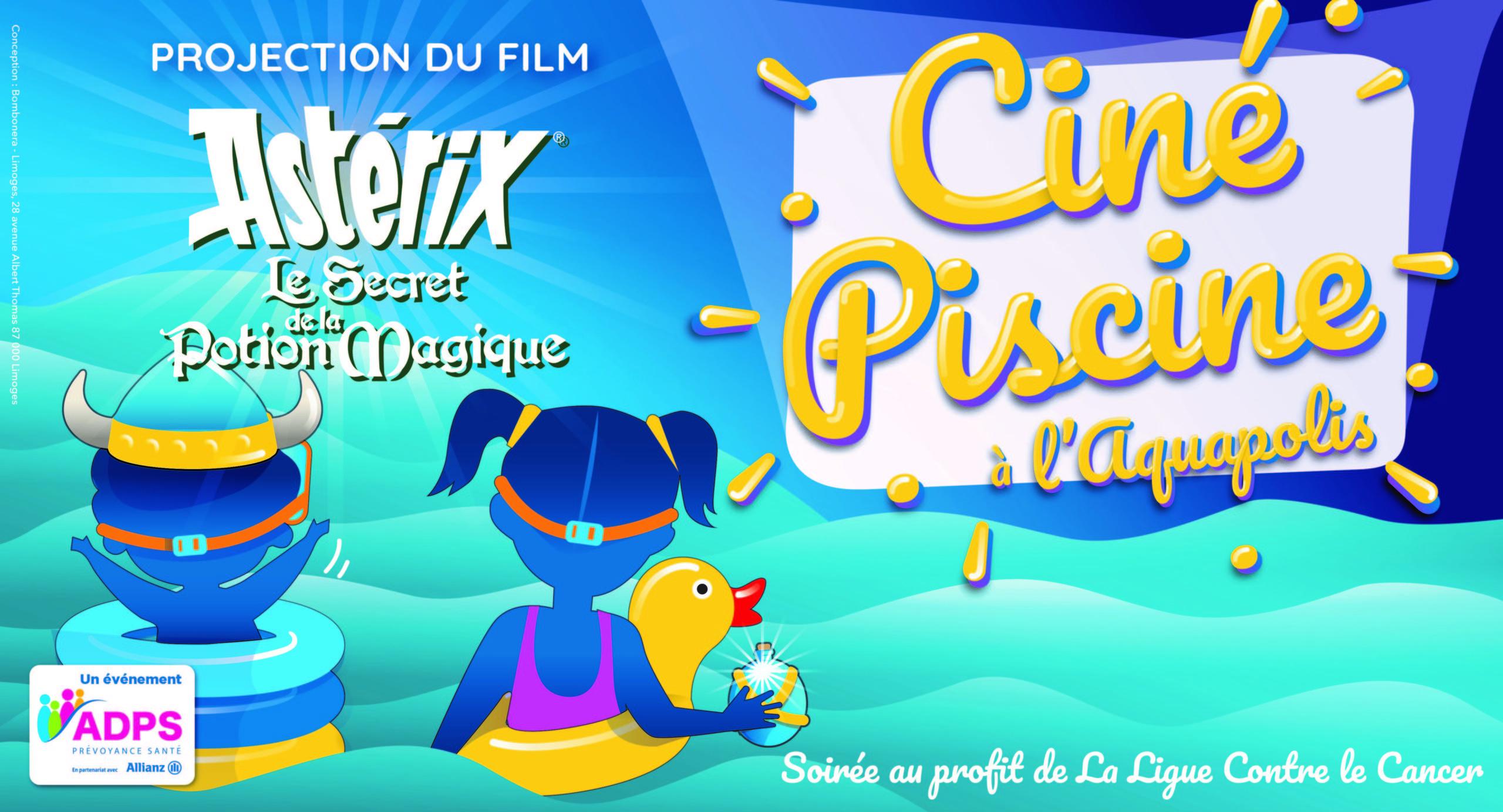 3Ème Édition « Ciné Piscine » – L'aquapolis – Limoges – Vert ... encequiconcerne Musique Piscine