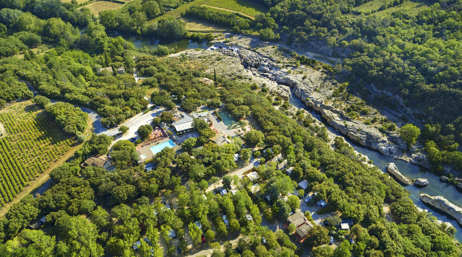 4 Star Campsite In The Gard | Rentals And Holidays In The ... à Camping Var Avec Piscine
