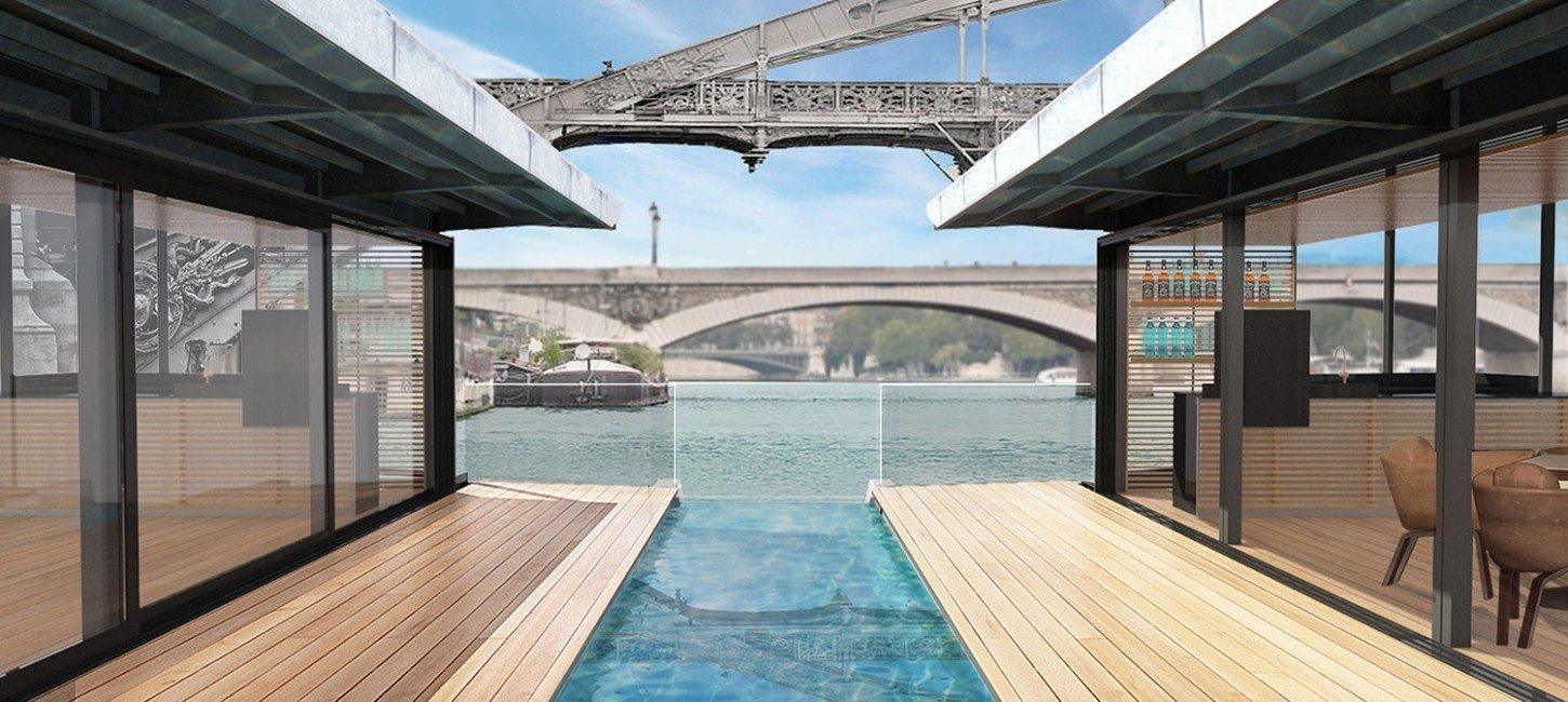 4 Stars - Off Paris Seine | Paris Capitale tout Hotel Paris Piscine
