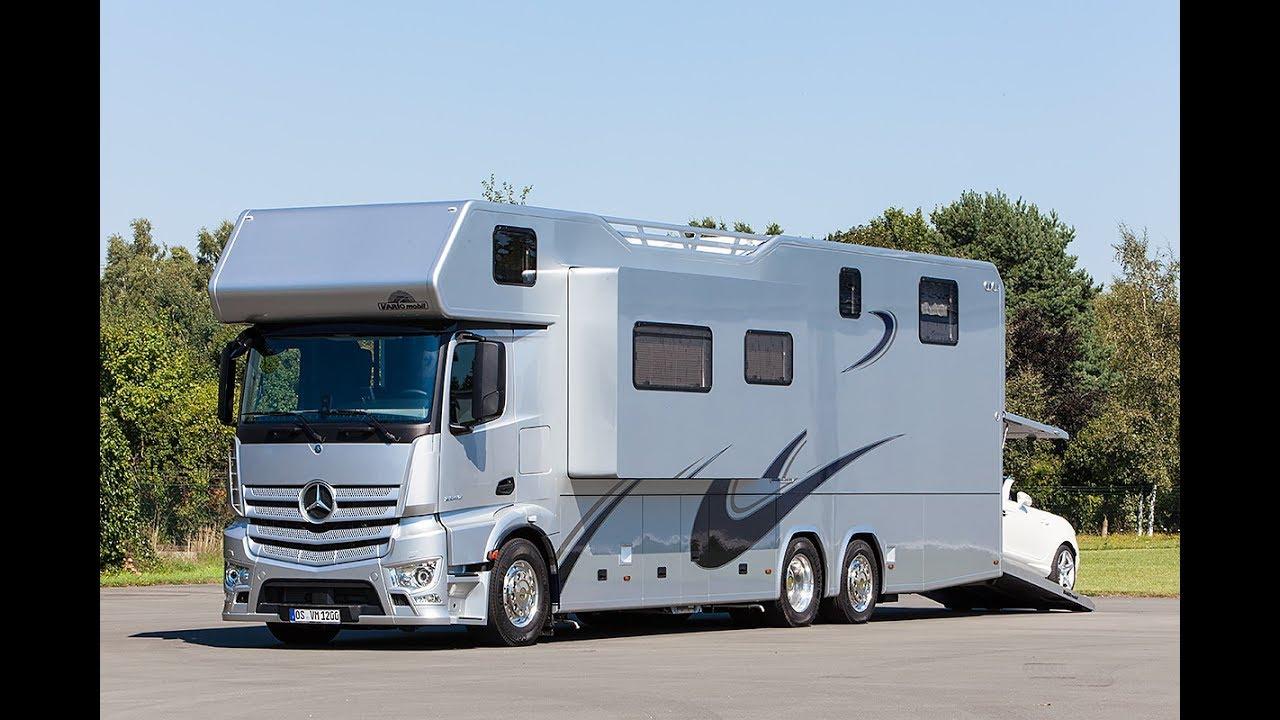 5 Des Plus Beaux Et Des Plus Luxueux Camping Cars Pour Voyager Nomade encequiconcerne Camping Car De Luxe Avec Piscine