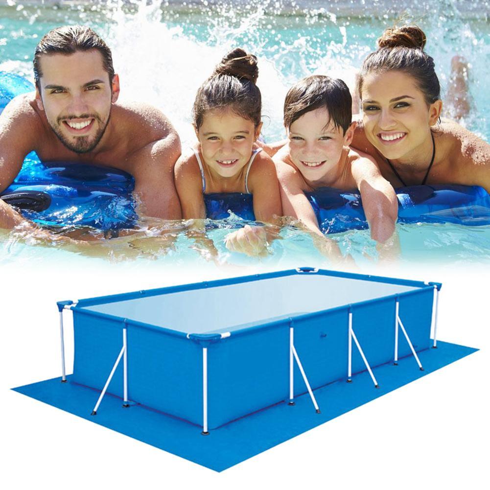 500*300Cm Yer Üstü Havuz Zemin Örtüsü Havuzu Şişme Kapak Aksesuar Yüzme  Havuzu Zemini Kumaş Zemin Kumaş intérieur Filtre Piscine Bestway Type 2
