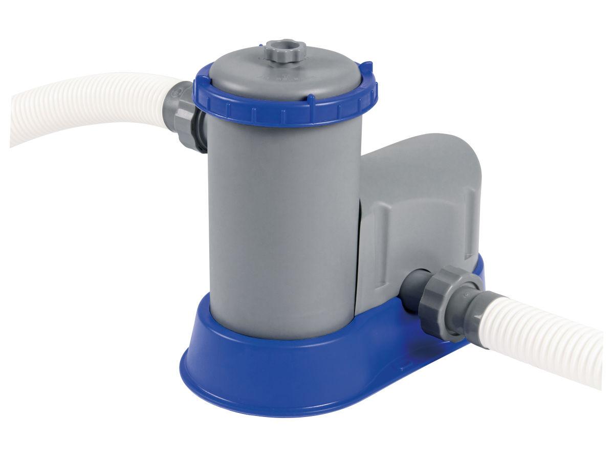 58389 - Pompe De Filtration Flowclear™ Débit 5,678L/h tout Pompe Piscine Bestway