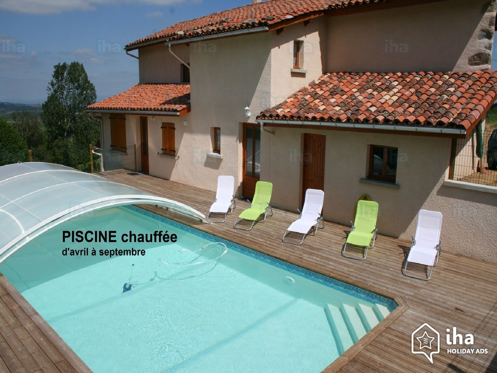 6 Bedrooms Gîte - Self Catering For Rent From 1 To 12 People serapportantà Piscine Saint Priest