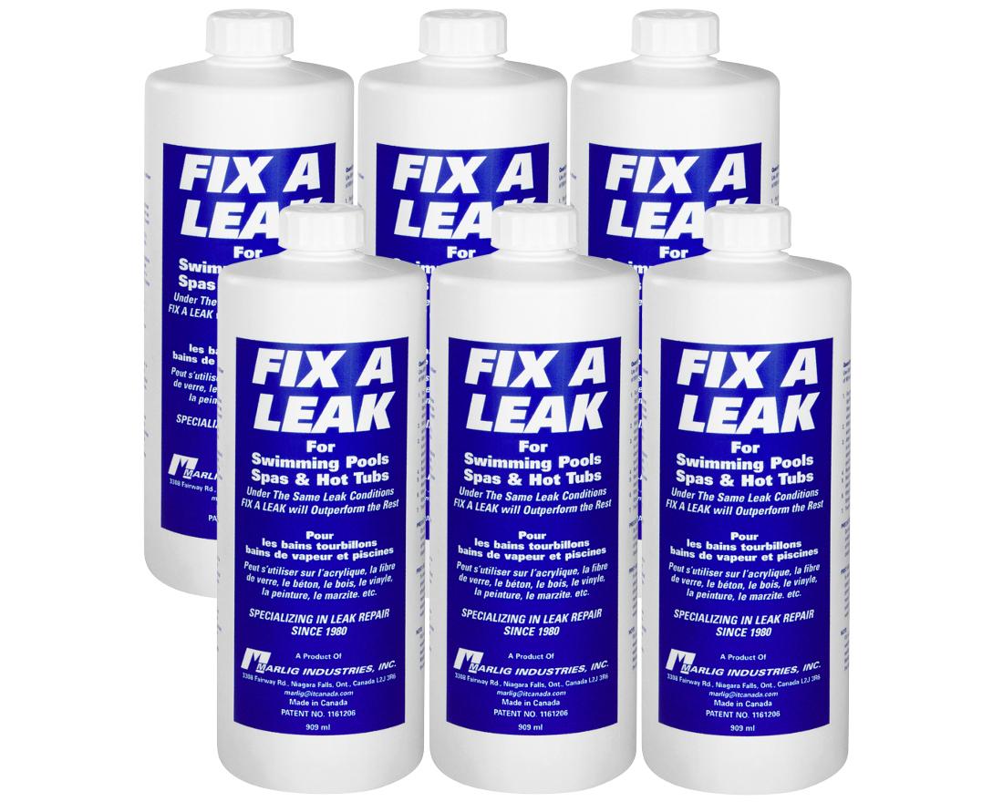 6 X Fix-A-Leak Colmateur De Fuite destiné Colmateur De Fuite Piscine