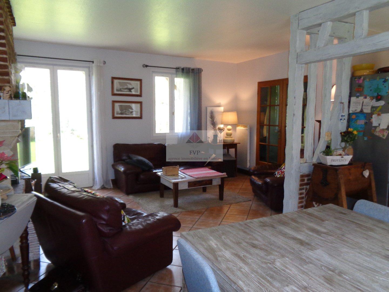 A Acheter Pavillon Plain-Pied Trois Chambres Sous-Sol Et ... tout Piscine Bolbec