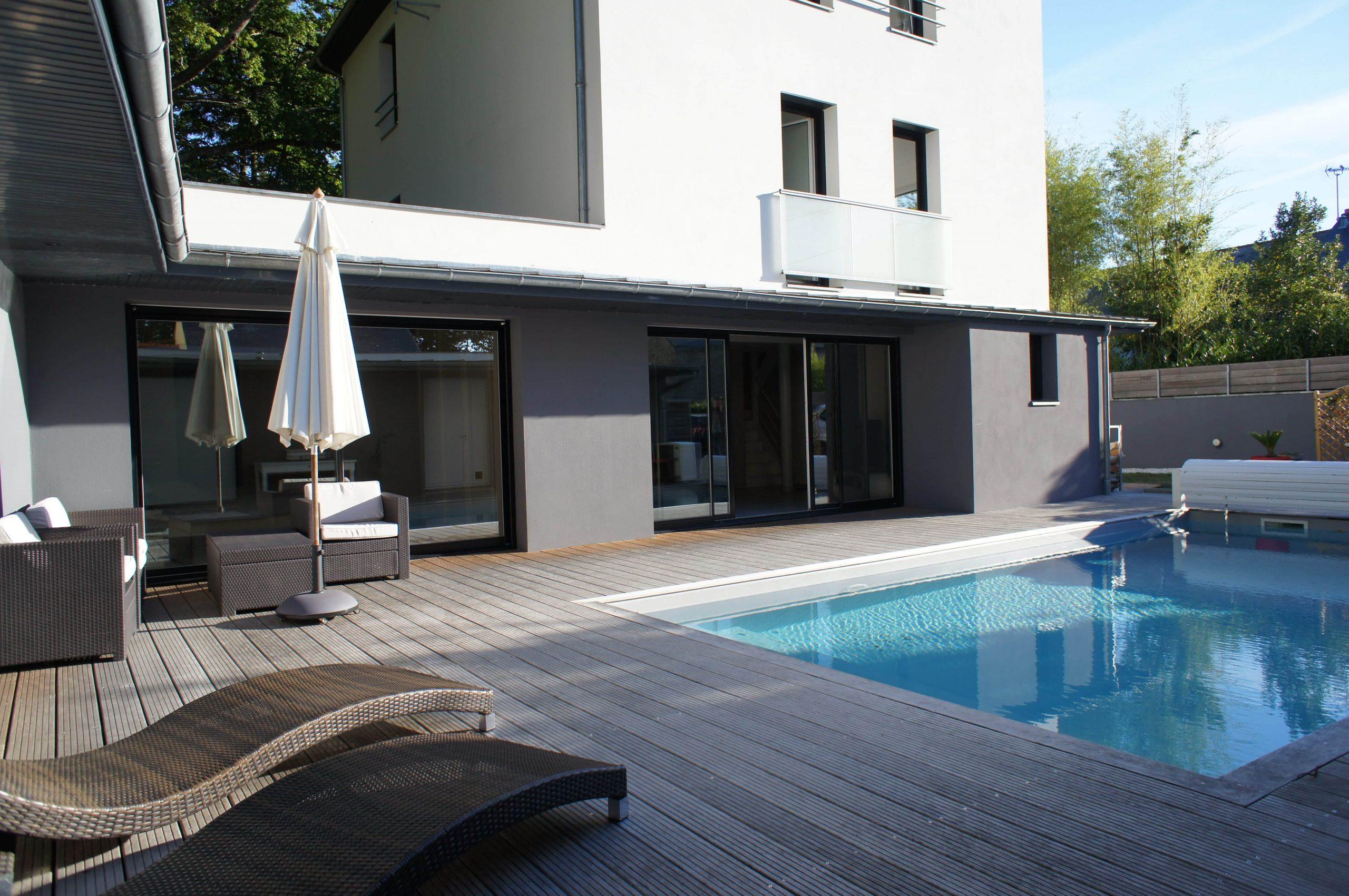 A Vendre - Superbe Maison D'architecte Avec Piscine À Orvault pour Piscine Orvault
