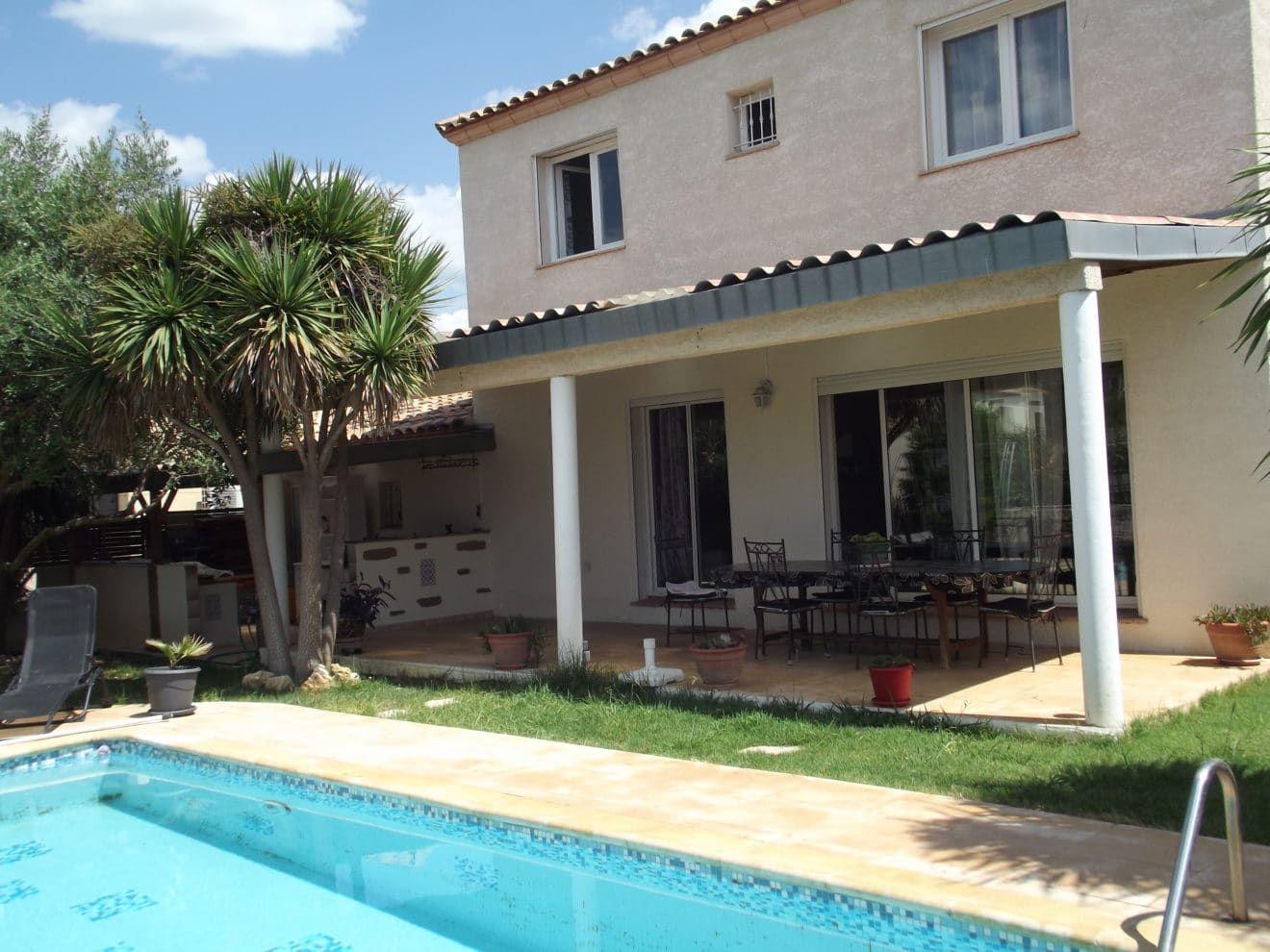 A Vendre Très Belle Maison De 162 M 2+ Garage 32 M 2. Avec ... concernant Piscine Palavas