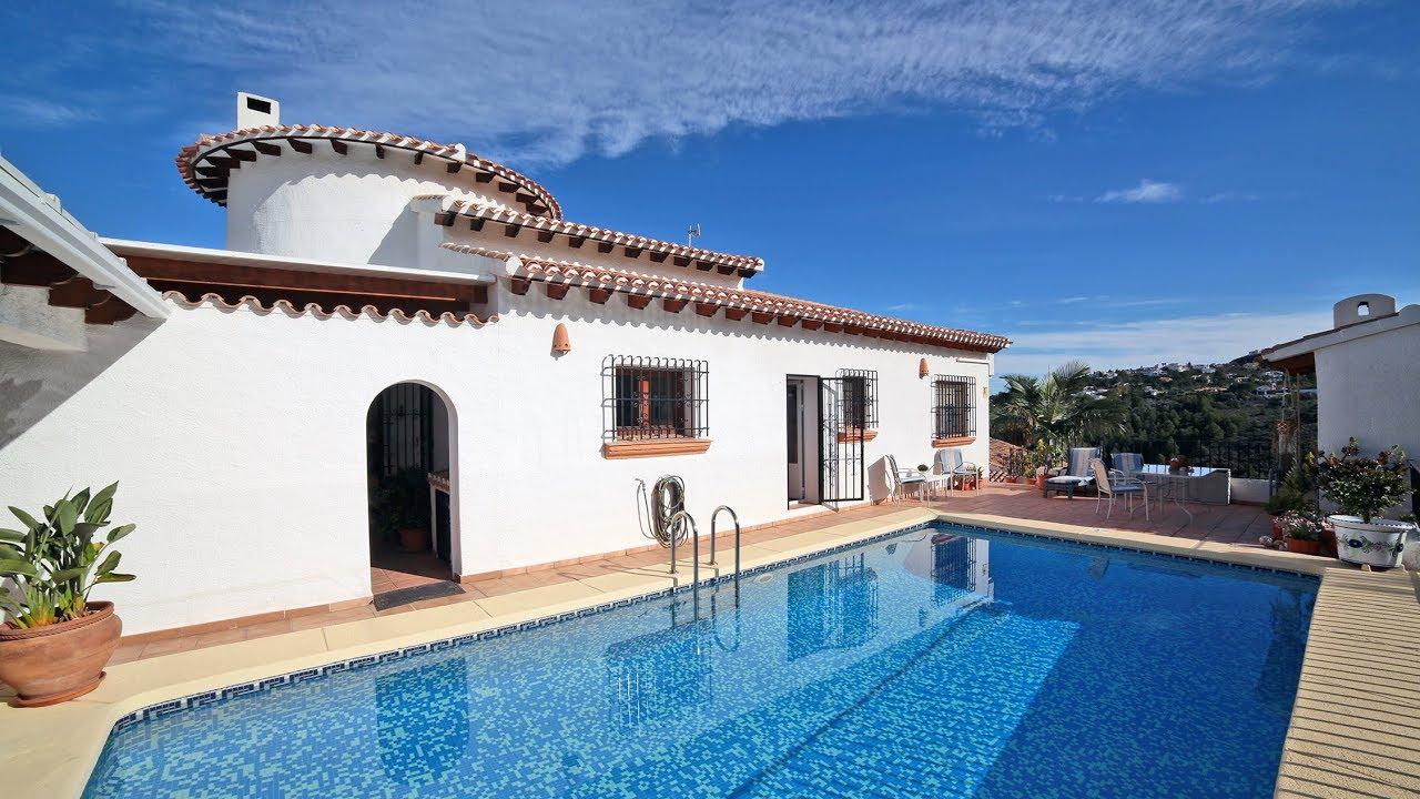 A Vendre - Villa De 3 Chambres Avec Piscine À Monte Pego, Denia, Costa  Blanca, Espagne Ref.cb-295-3 tout Villa En Espagne Avec Piscine