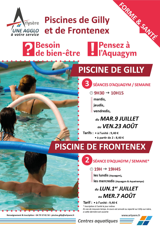 A3_Aquagym Gilly-Frontenex 2018 | Ca Arlysère intérieur Piscine Gilly Sur Isère