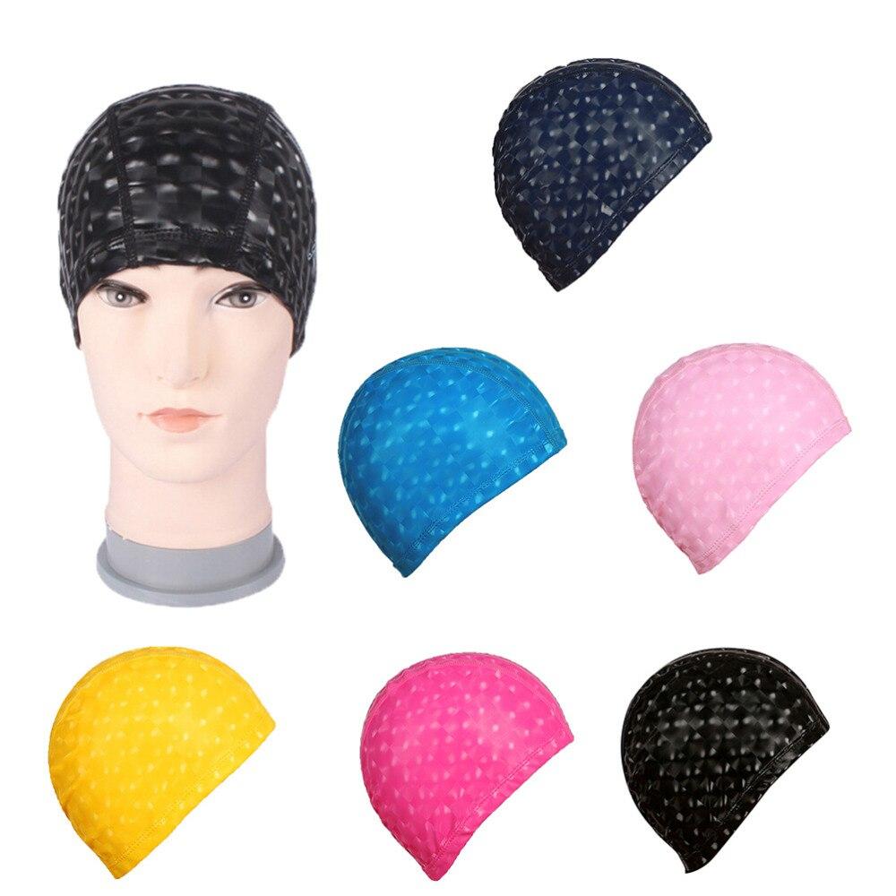 Accessoires De Piscine En Nylon Bonnet Protection Cheveux ... à Bonnet De Bain Piscine
