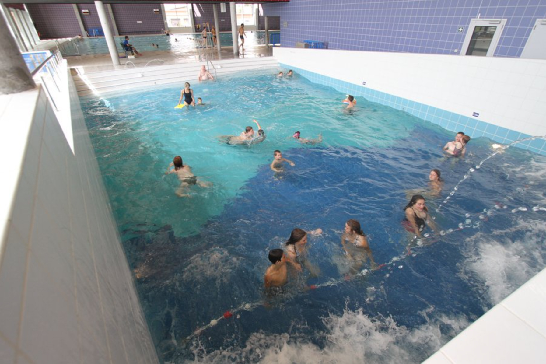Accueil - Le Point D'eau : Centre Aquatique Sportif Et De ... encequiconcerne Piscine St Amand