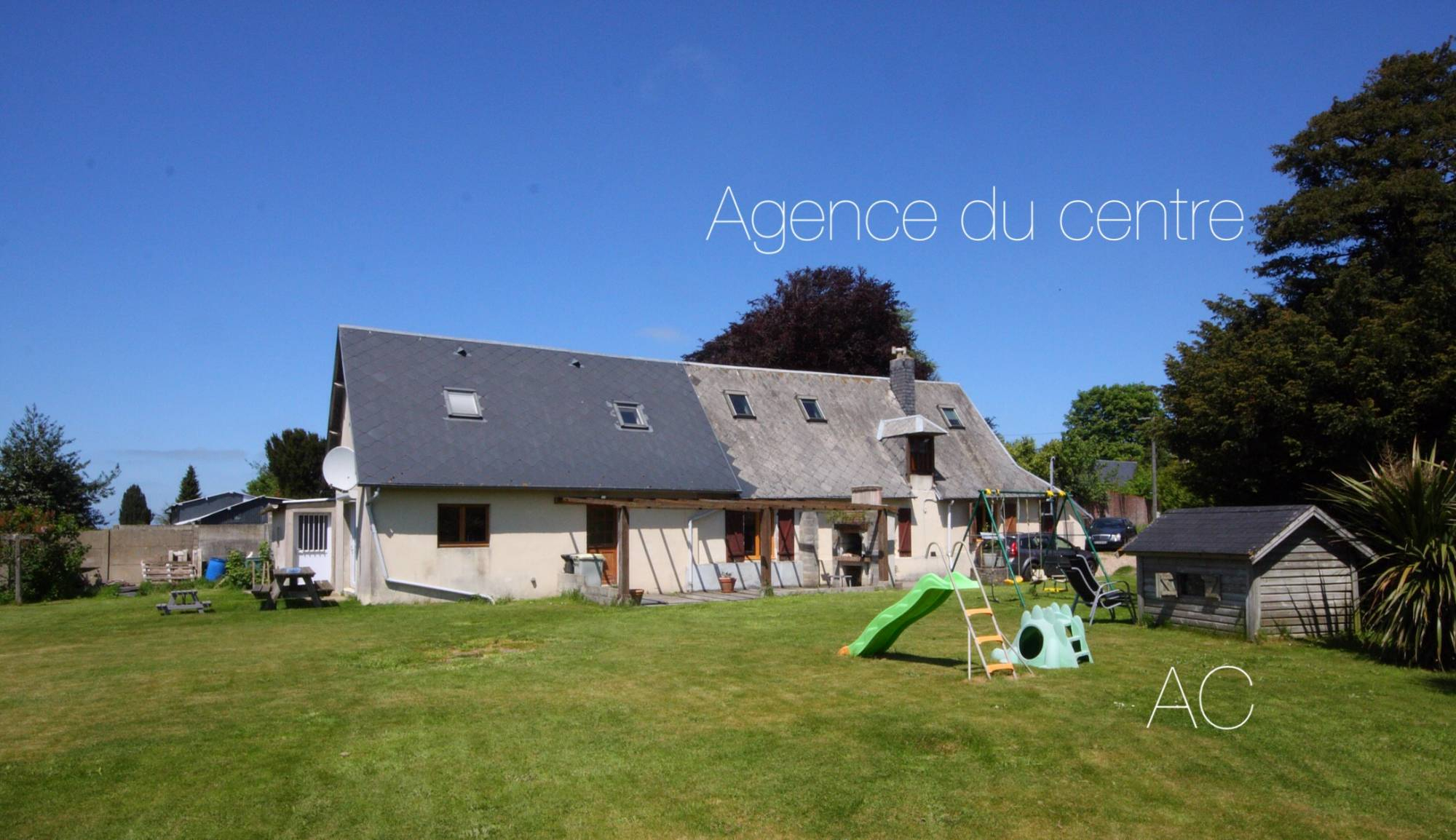 Achat Maison Traditionnelle À La Campagne Criquetot L ... avec Piscine Criquetot