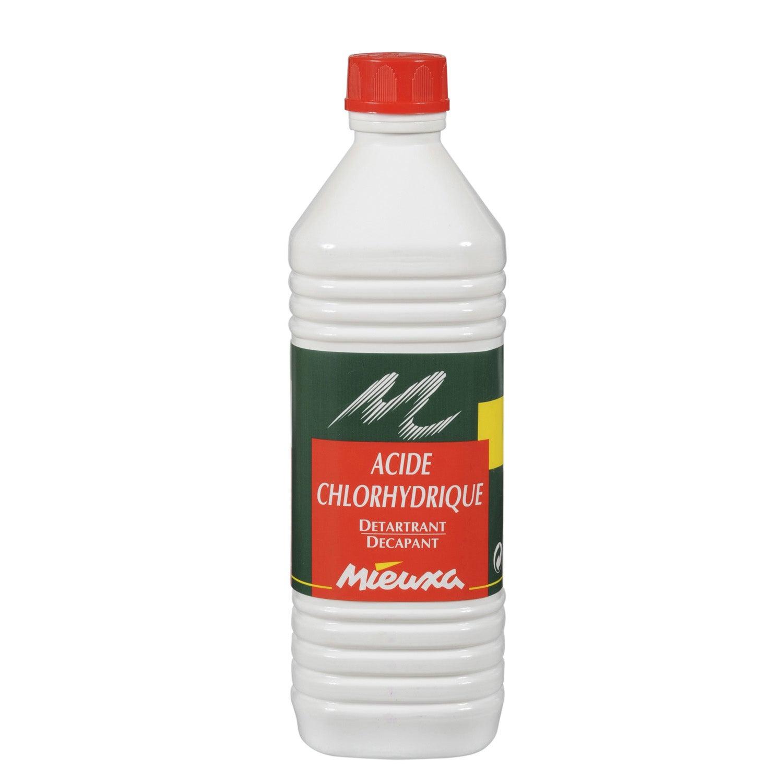 Acide Chlorhydrique Mieuxa, 1 L encequiconcerne Acide Chlorhydrique Piscine