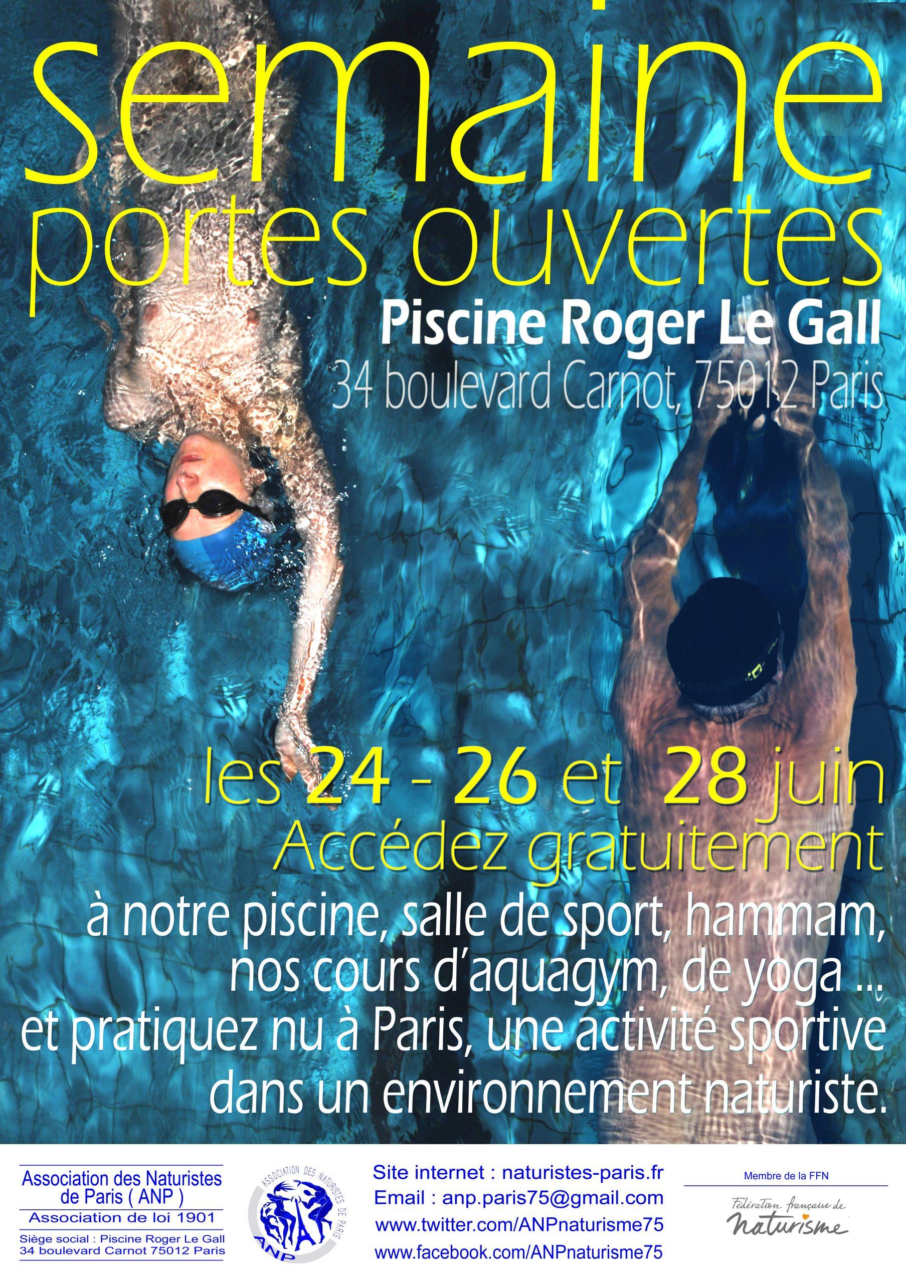 Activités 2019 – Association Des Naturistes De Paris à Piscine Roger Le Gall Naturiste