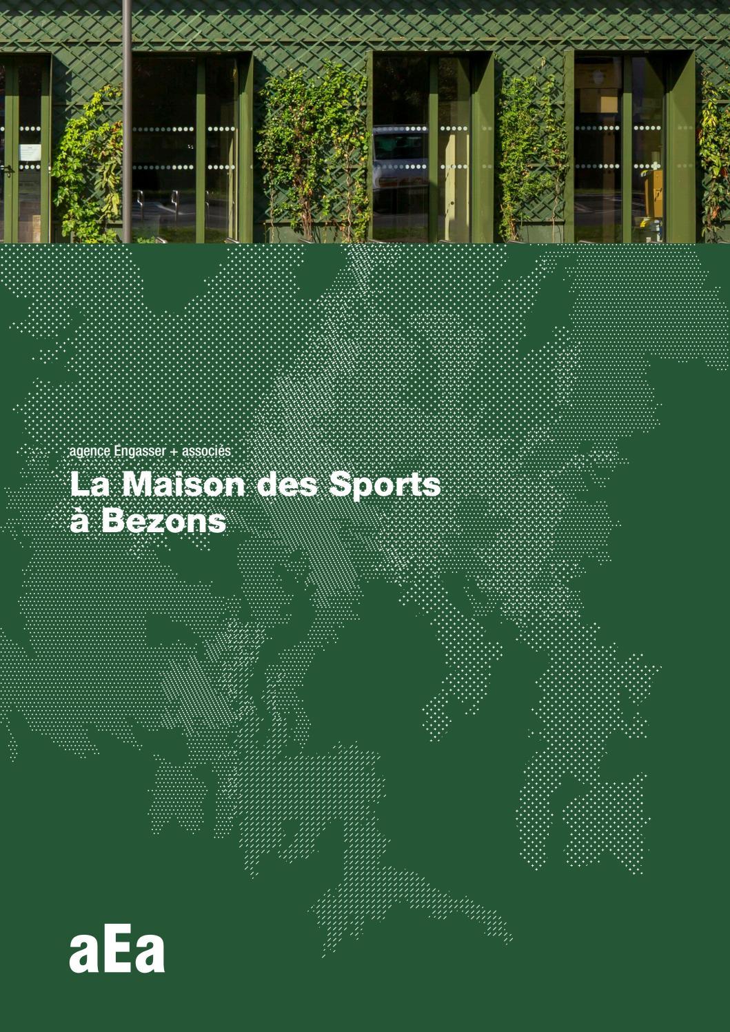 Aea + Associés, La Maison Des Sports À Bezons By Agence ... destiné Piscine Bezons