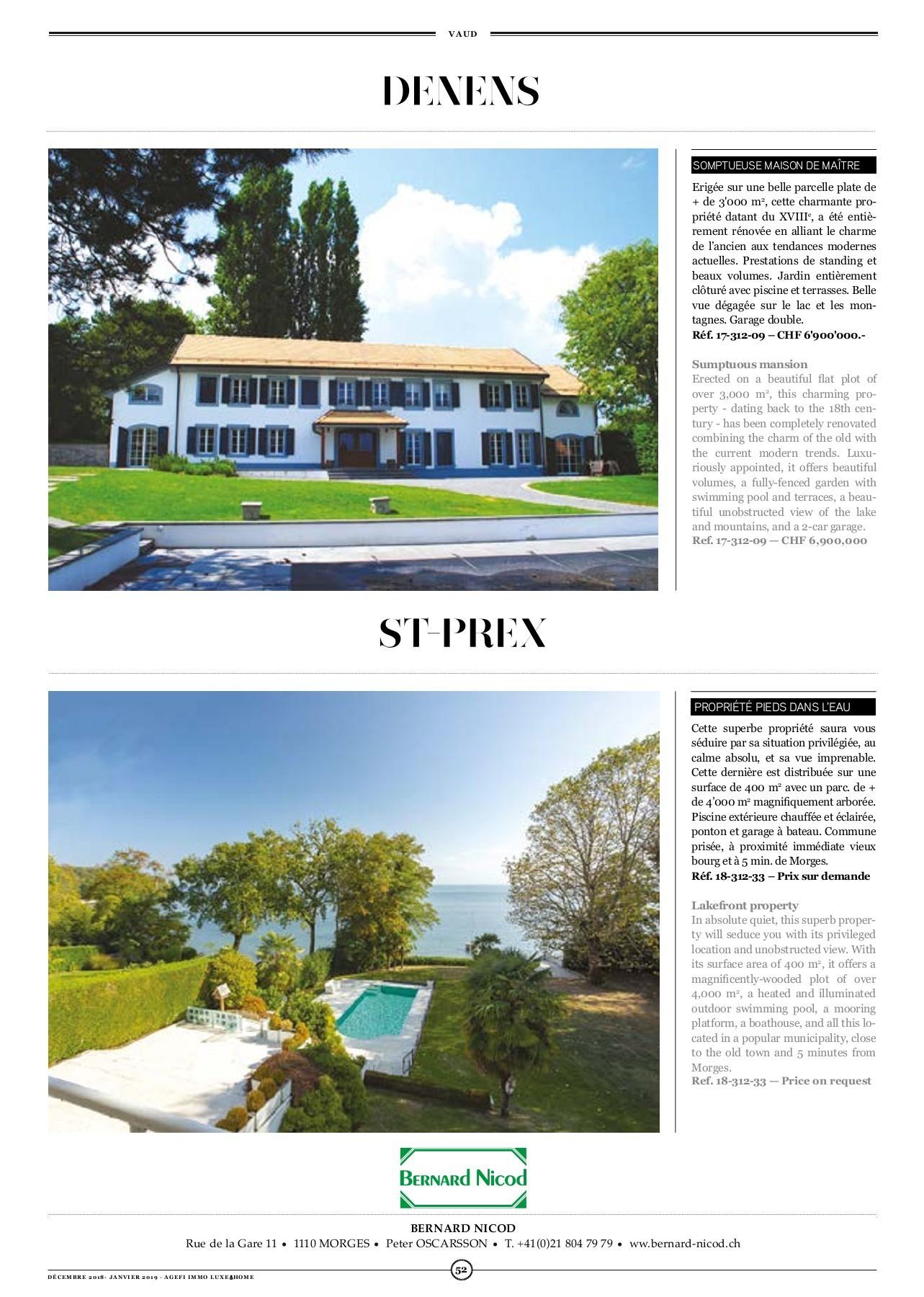 Agefi Immo 51 Pages 51 - 76 - Text Version | Pubhtml5 tout Piscine Saint Lo
