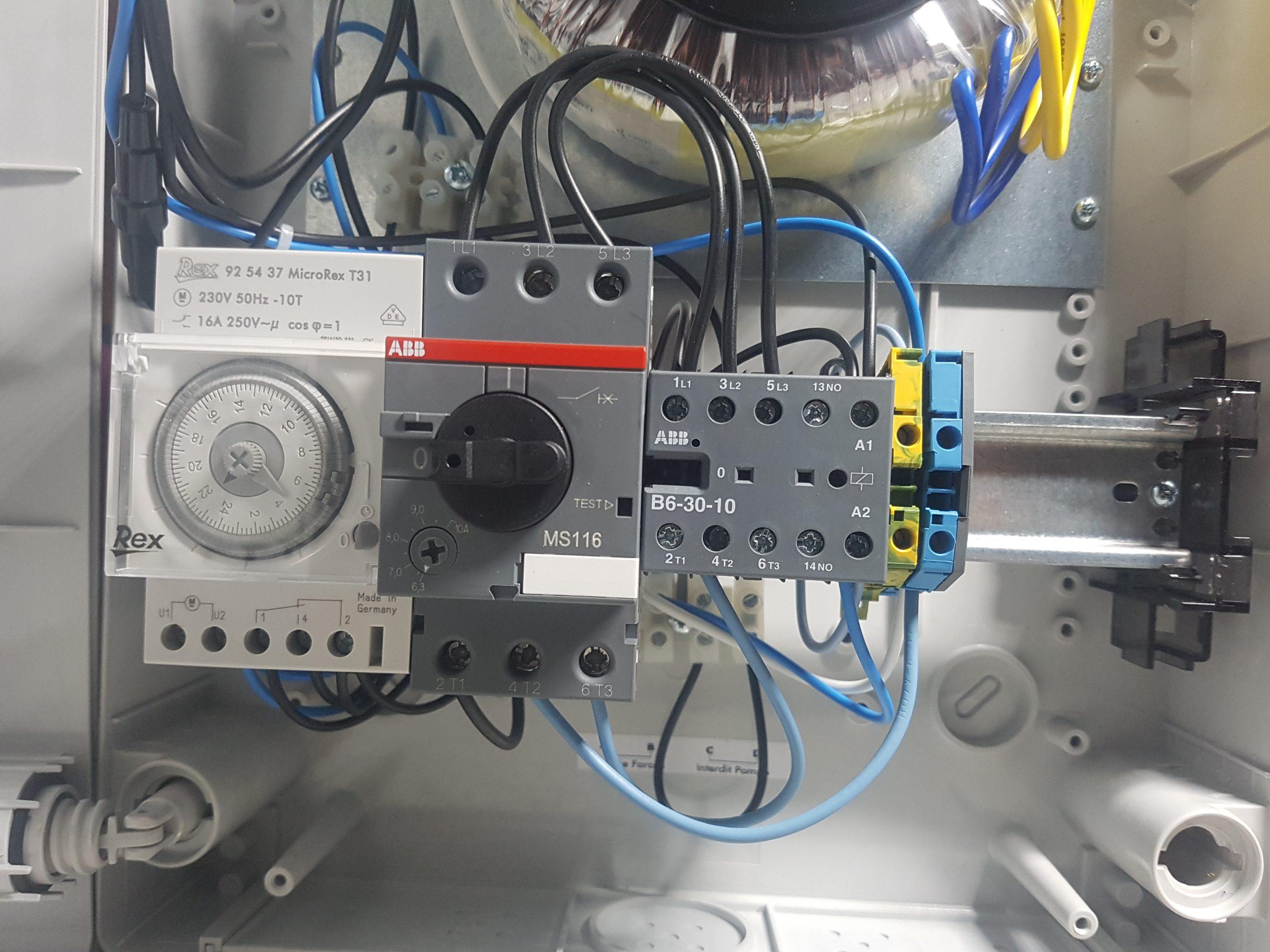 Aide Pour Câblage Coffret Ccei + Pac | Piscines Construction encequiconcerne Coffret Piscine