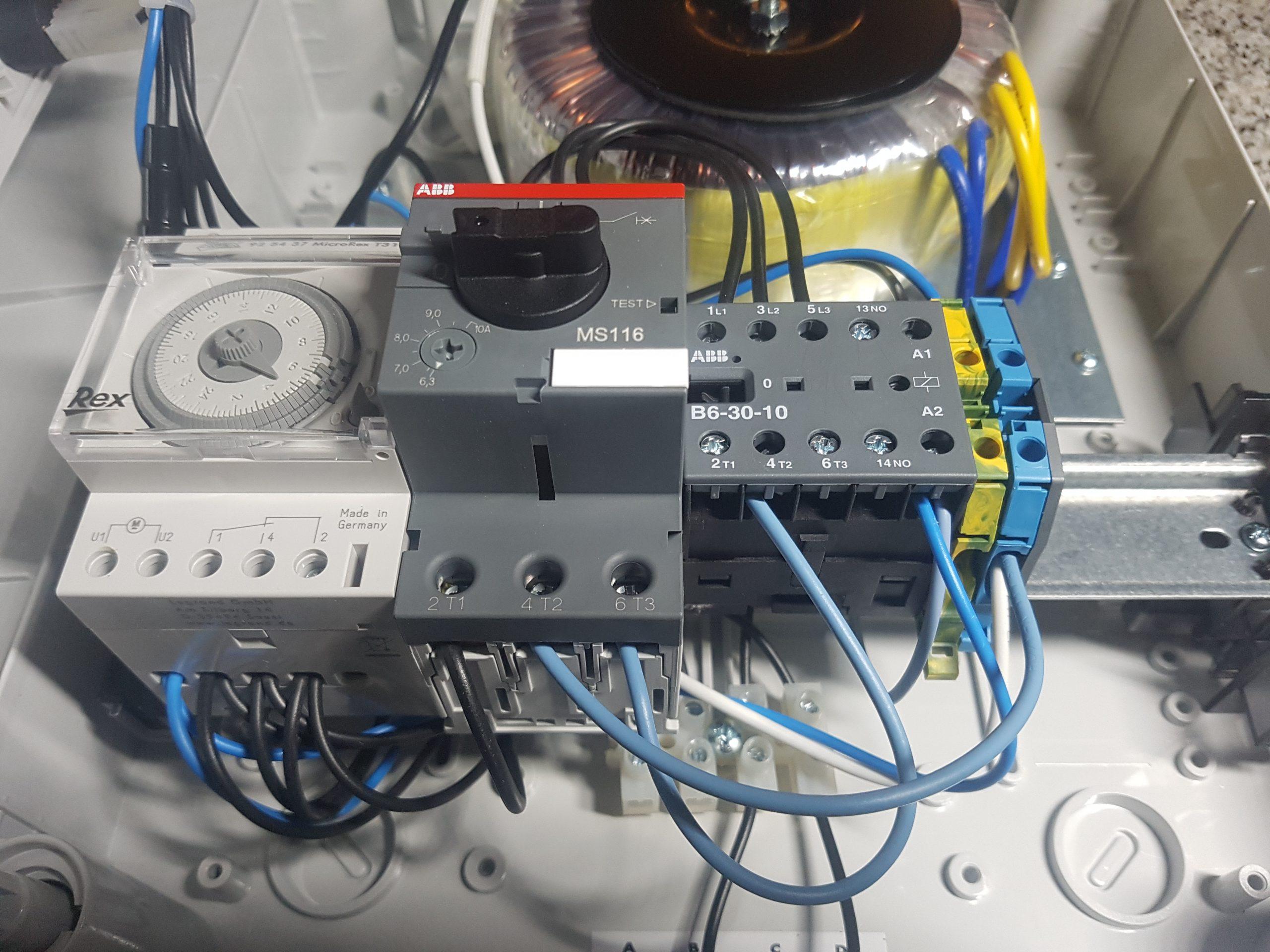 Aide Pour Câblage Coffret Ccei + Pac | Piscines Construction tout Coffret Piscine