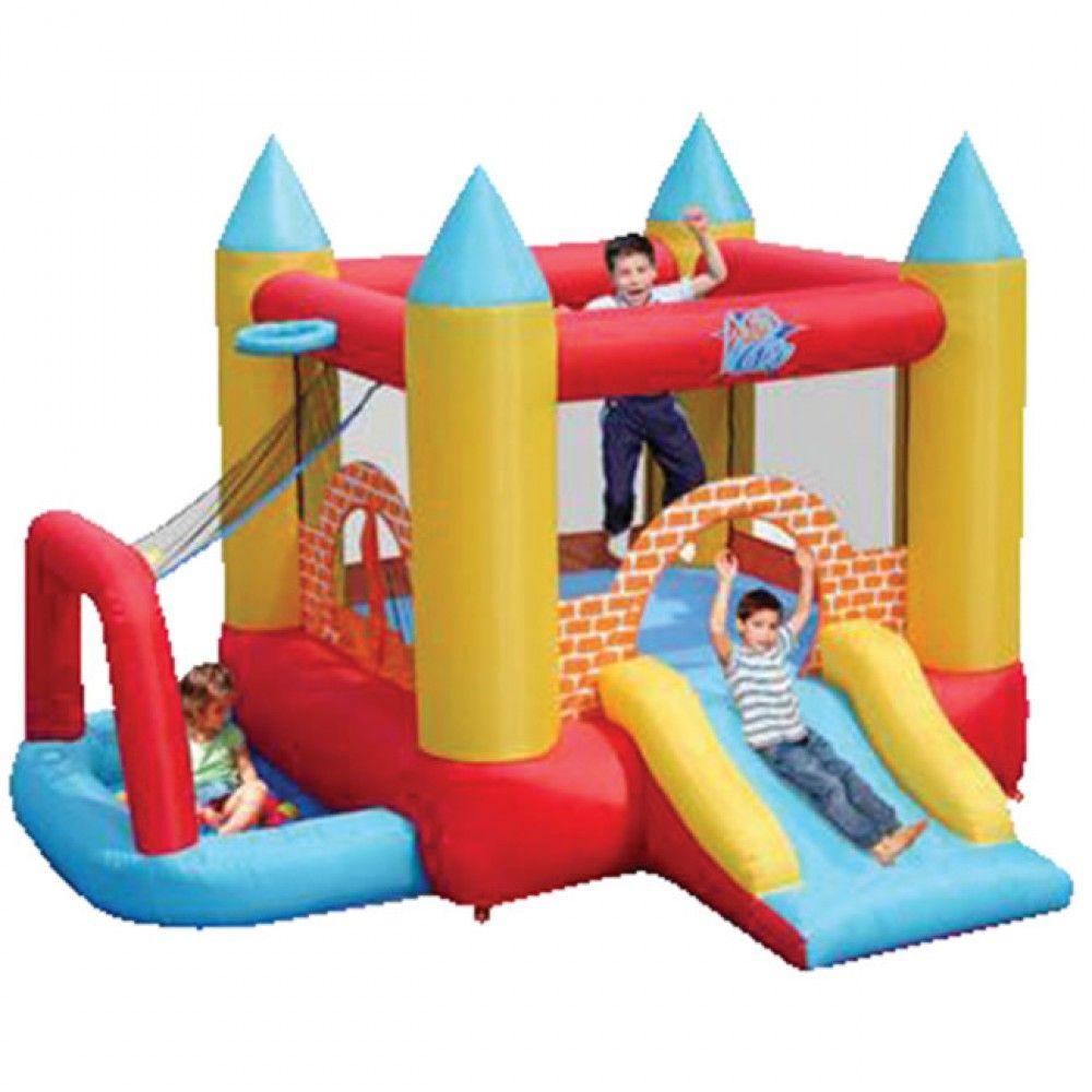 Aire De Jeux Et Structure Gonflable | Gonflable, Piscine A ... concernant Piscine A Balle Toysrus