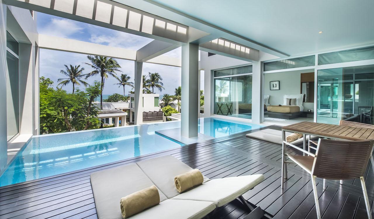 Aleenta Phuket Resort & Spa - Resort De Plage 5 Étoiles Ou ... tout Hotel Avec Piscine Privee Par Chambre