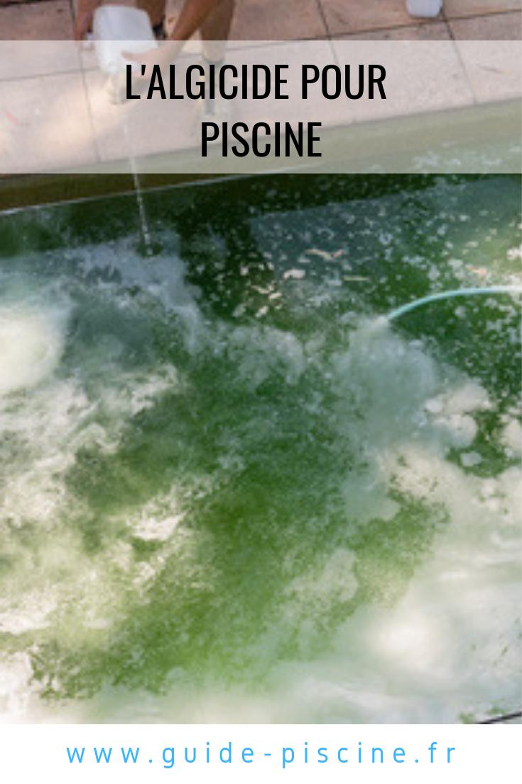 Algicide Pour Piscine | Eau Verte Piscine, Piscine Verte Et ... destiné Algues Vertes Piscine