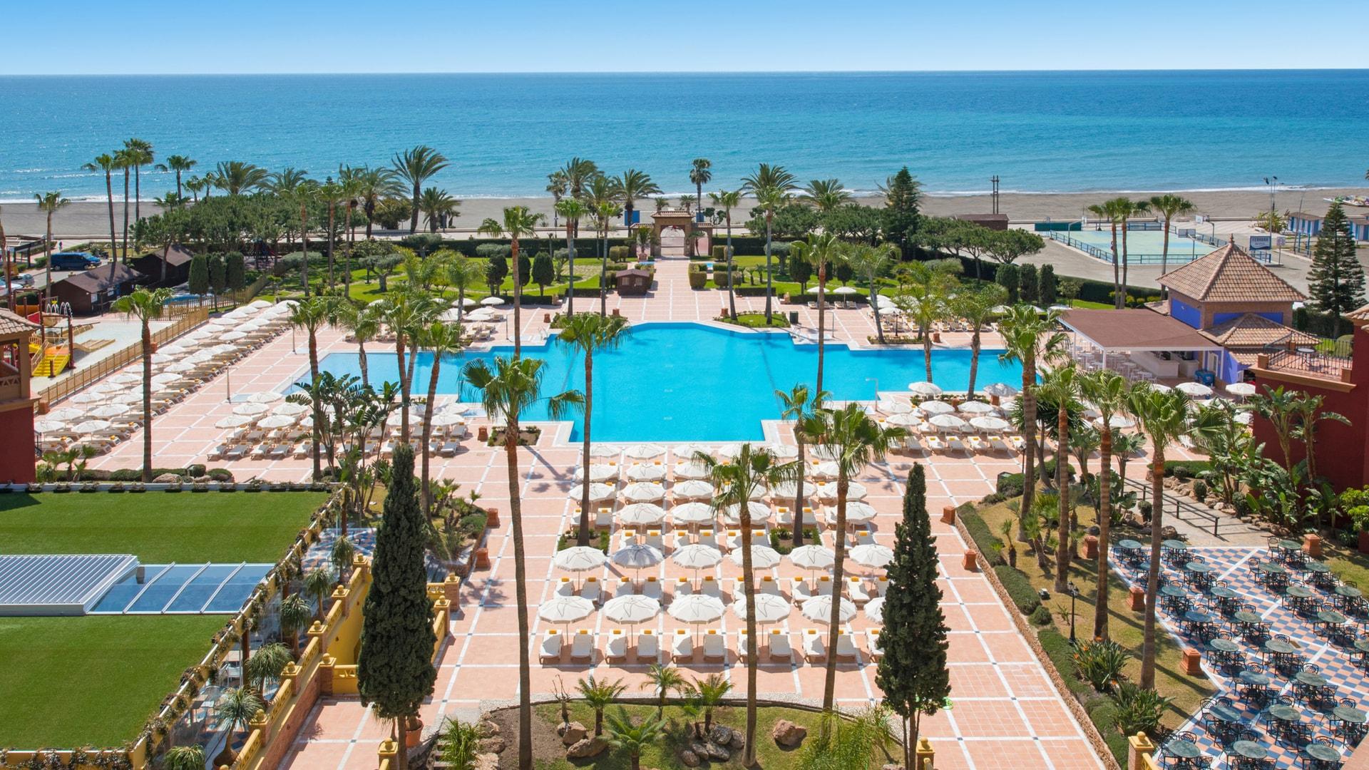 All-Inclusive Hotel In Malaga   Iberostar Malaga Playa pour Hotel Lisbonne Avec Piscine