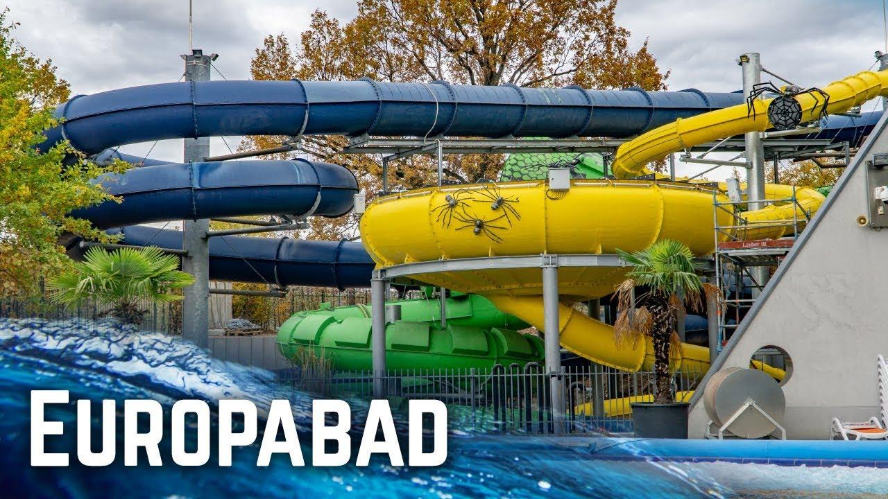 All Water Slides At Europabad Karlsruhe, Germany! (2018 Edition) tout Piscine Karlsruhe