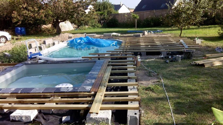 Allinbox - Projets Diy - Construire, Réparer, Détourner pour Piscine Hors Sol Occasion