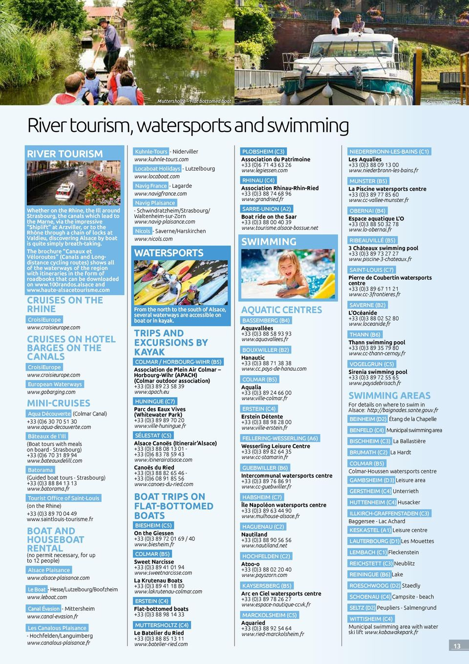 Als Ce. The Guide To Your Stay. Nature And Activities ... destiné Piscine Bassemberg