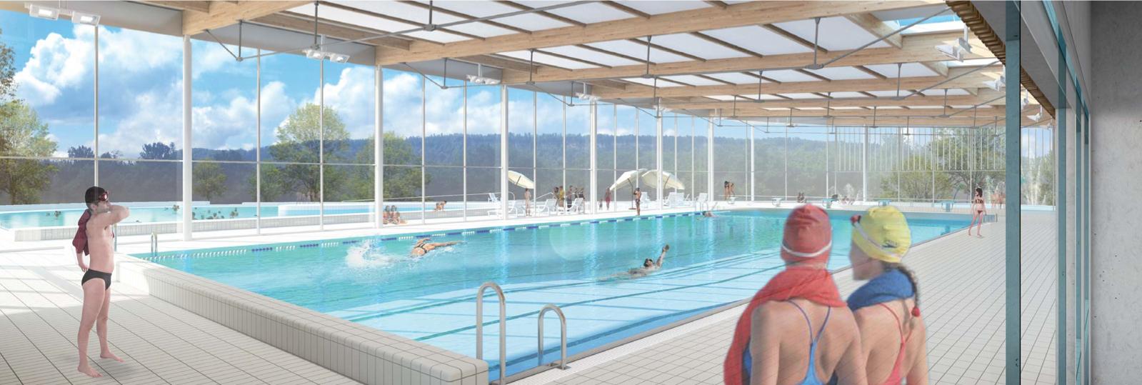 Amo Centre Aquatique Cc De Champagnole Porte Du Haut Jura ... destiné Piscine Champagnole