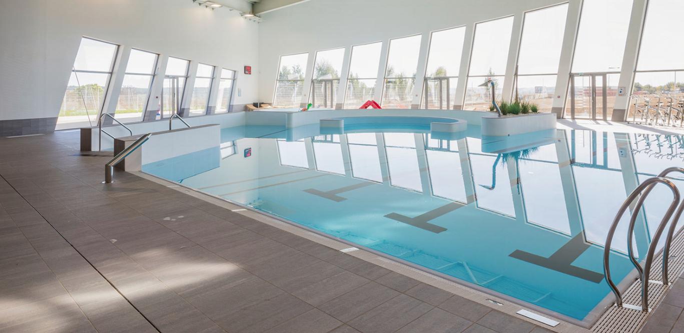 Amo Construction D'un Nouveau Centre Aquatique Communautaire ... pour Piscine Chateau Thierry