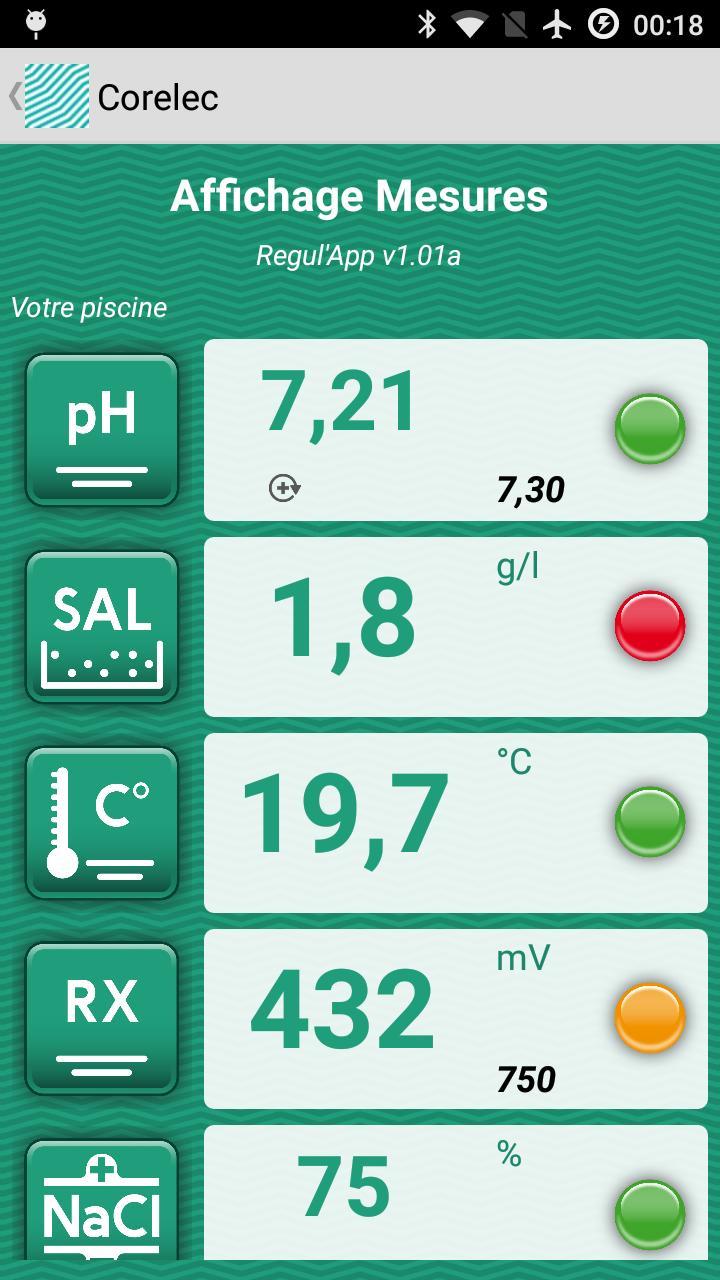 Android Için Regulapp - Apk'yı İndir intérieur Electrolyseur Sel Piscine
