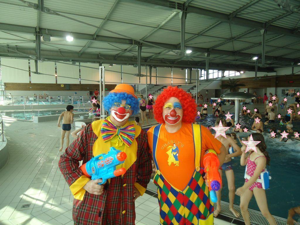 Animation Clown Déambulatoire À Longuenesse Avec Les Magic ... serapportantà Piscine Sceneo