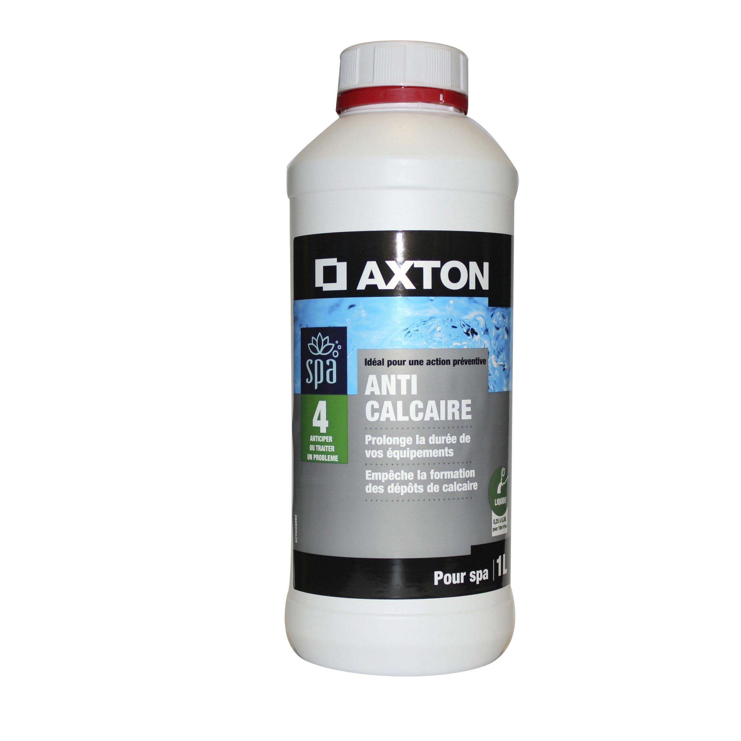 Anticalcaire Piscine Axton, Liquide 1 L intérieur Anti Calcaire Piscine