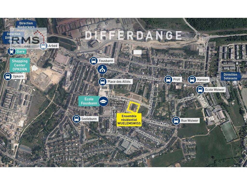 Apartment 2 Rooms For Sale In Differdange (Luxembourg) - Ref ... à Piscine Oberkorn