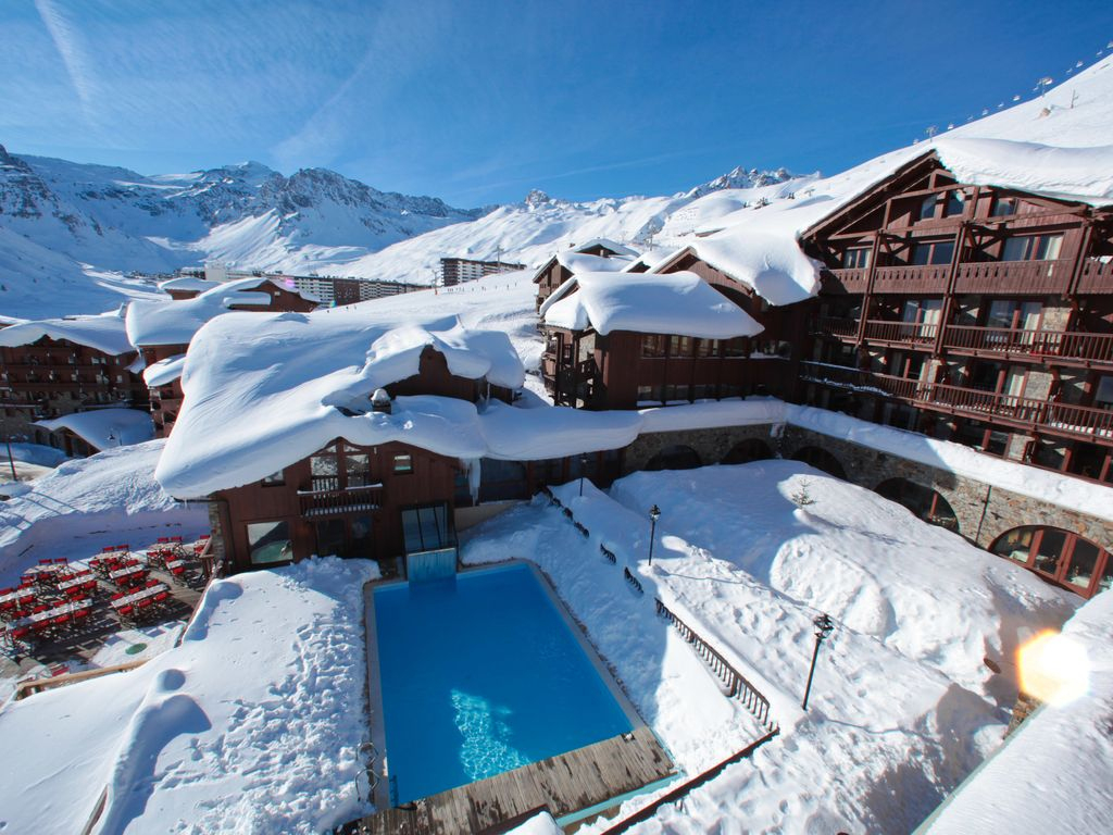 Apartment Campbell With Ski-In/ski-Out - Tignes destiné Piscine Tignes
