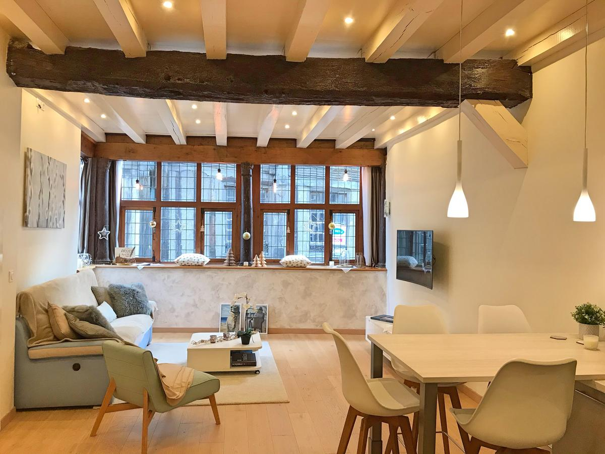 Appartement De Charme Classé 4 (Fransa Dinan) - Booking tout Piscine Dinan