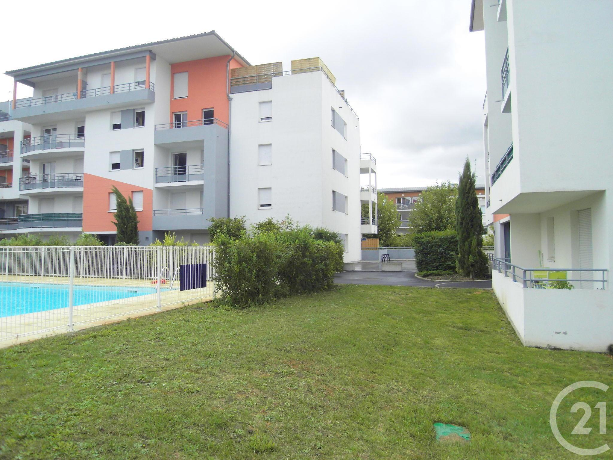 Appartement F3 3 Pièces À Louer – Cournon D Auvergne (63800 ... avec Piscine Cournon