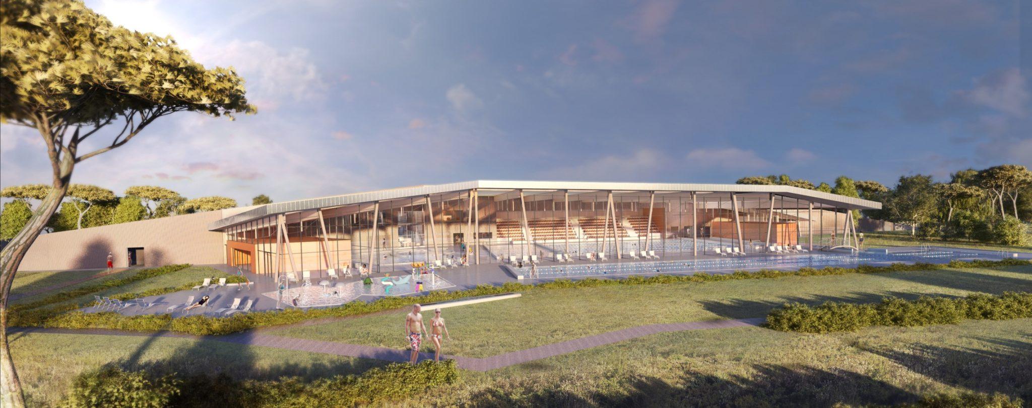 Après L'arena À Luynes, La Cpa Mise Sur Le Centre Aquatique ... destiné Piscine Venelle