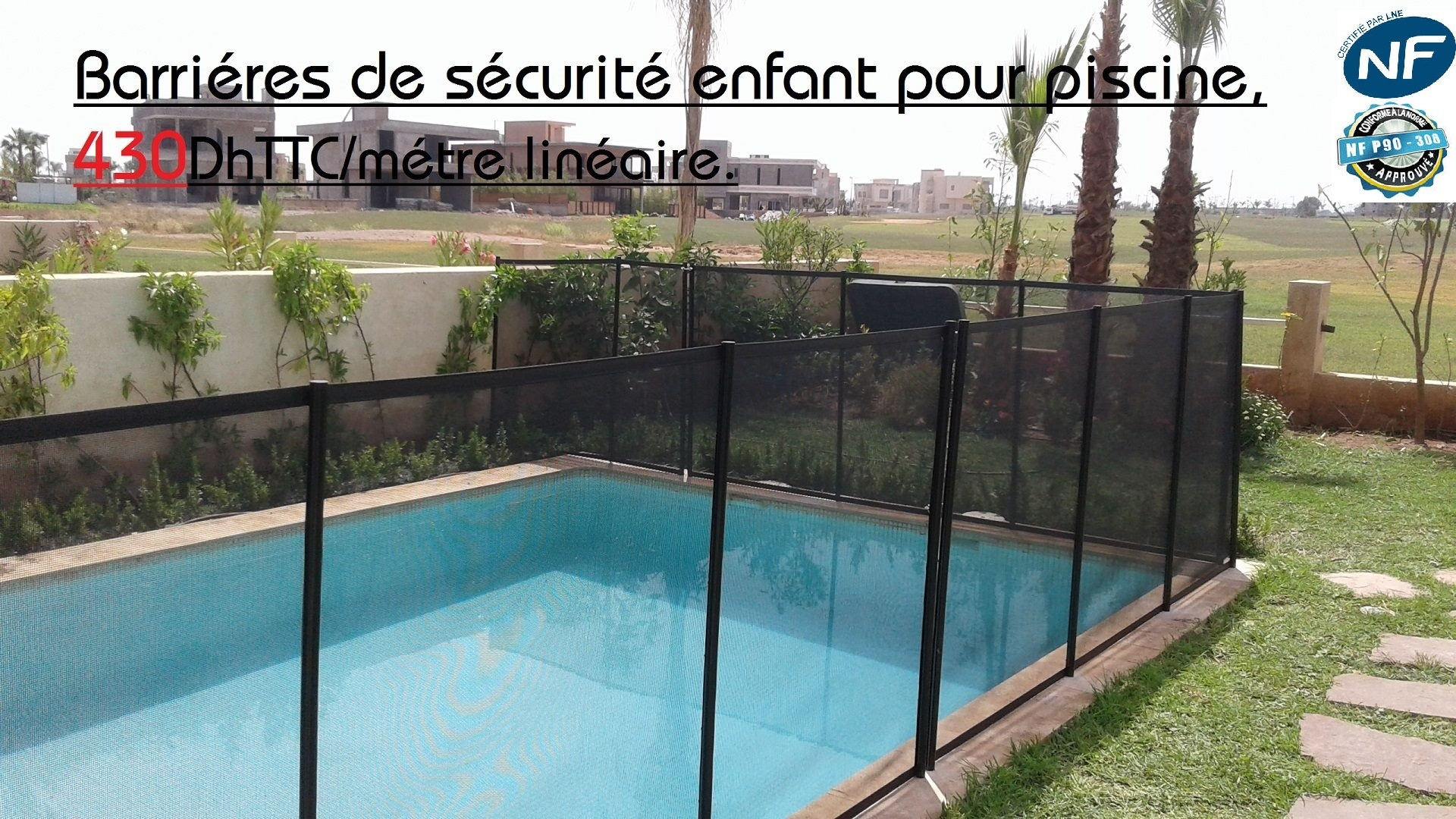 Aquabul Baches Volets Piscines Maroc Marrakech destiné Filet Protection Piscine