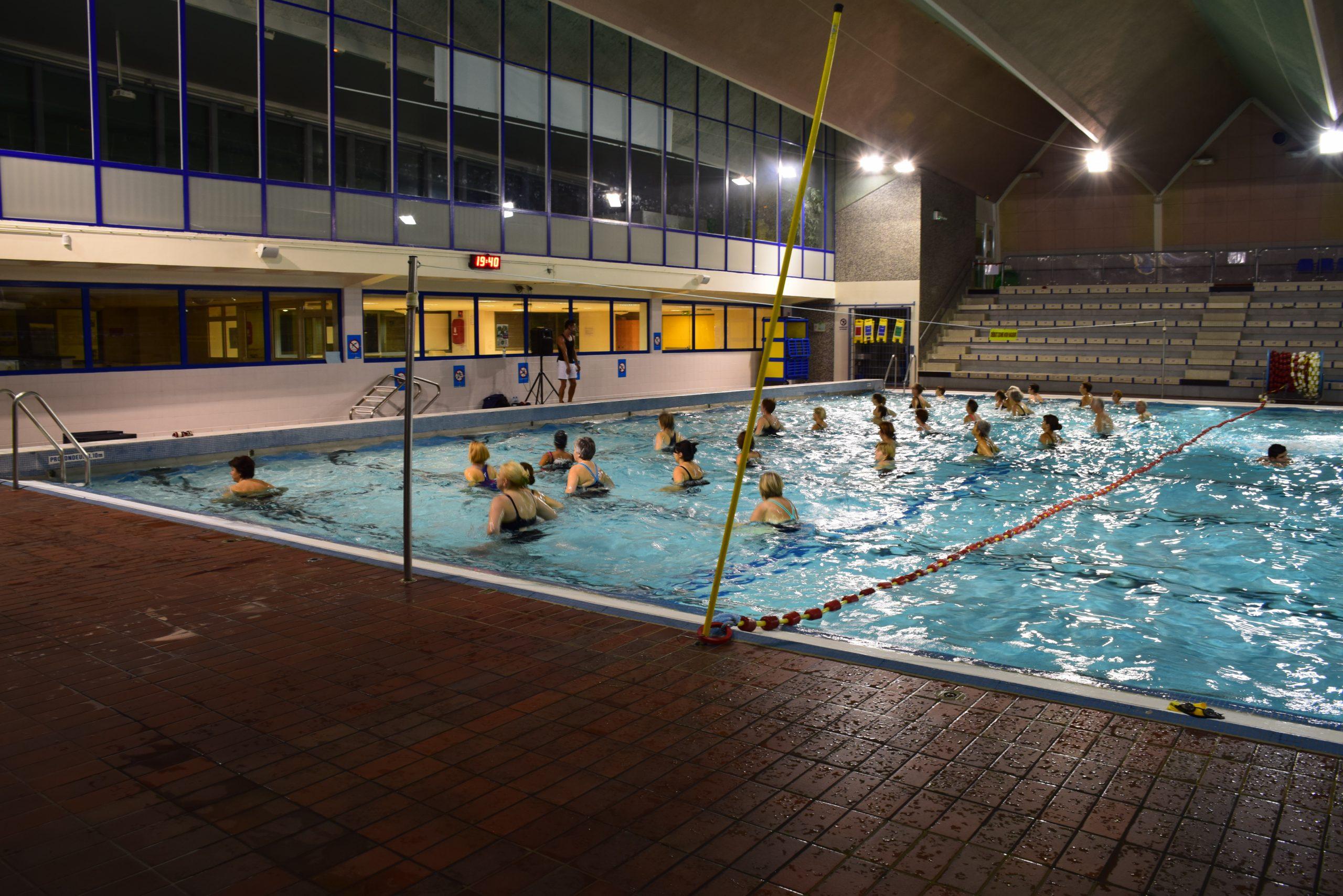 Aquaform - Es Nanterre - Entente Sportive De Nanterre intérieur Piscine Du Palais Des Sports À Nanterre Nanterre