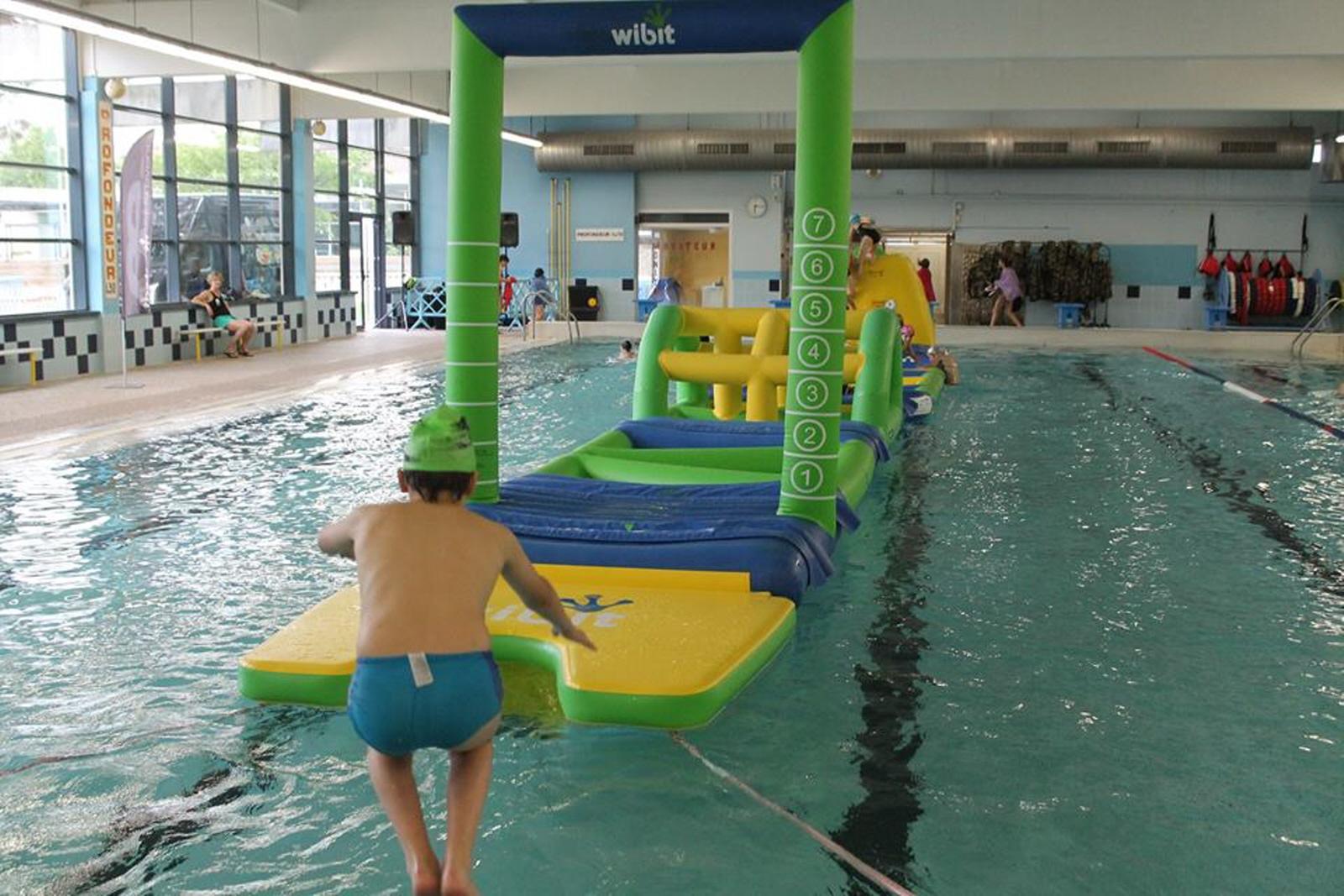 Aquafun Party A La Piscine Des 3 Chateaux : Natation A ... intérieur Piscine Ribeauville